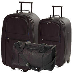Tesco Value Classic Large Trolley, Medium Trolley and Overnight Holdall Reviews