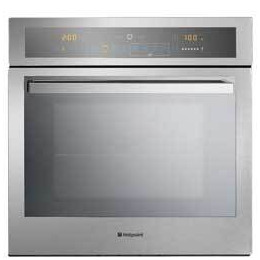 Hotpoint Integrated Touch Control Single Oven - Stainless Steel Reviews