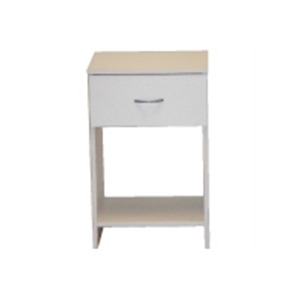 Photo of San Marino Bedside Chest  White Furniture