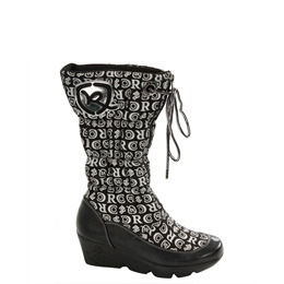 Rocawear Black Platform Printed Boot Reviews