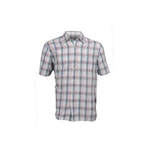 Photo of Timberland Short Sleeved Linen Mix Shirt - Lavender Shirt