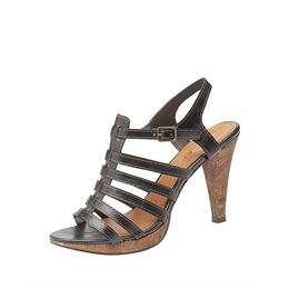 Ann Michelle strappy heels - black Reviews