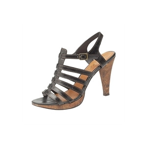 Photo of Ann Michelle Strappy Heels - Black Shoes Woman