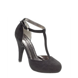 Ann Michelle T bar heels - black Reviews