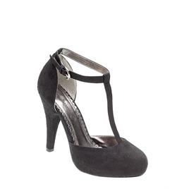 Ann Michelle T bar heels - black Reviews
