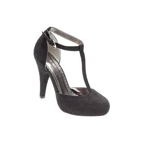 Photo of Ann Michelle T Bar Heels - Black Shoes Woman