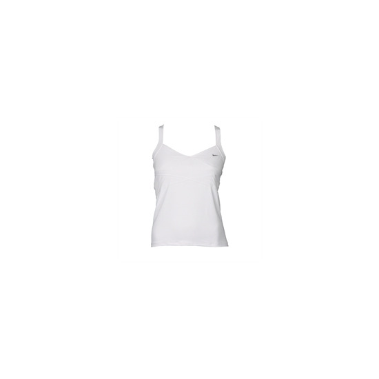 Nike support tank white