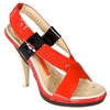 Photo of Full Circle Red Strappy Sandals Shoes Woman