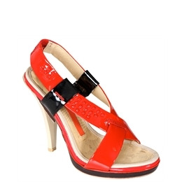 Full Circle Red Strappy Sandals Reviews