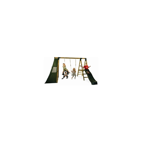 Macaque Swing+Tyre+Play Tent+Play Deck+Slide