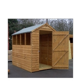 7x5 Overlap Apex Shed Reviews