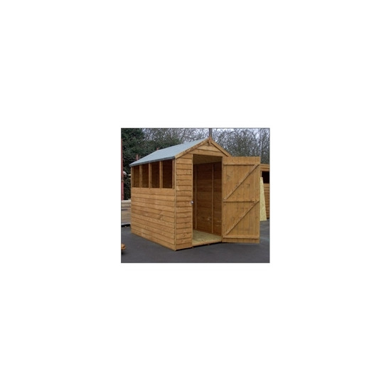 7x5 Overlap Apex Shed