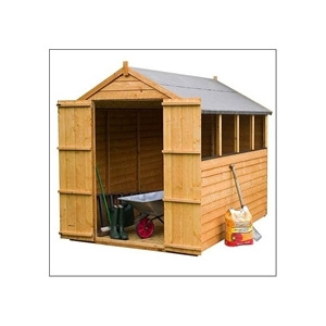 Photo of 8X6 Overlap Apex Shed With Double Doors Shed
