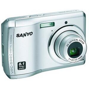 Photo of Sanyo VPC-S880 Digital Camera