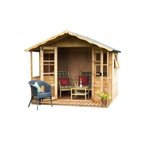 Photo of Wessex Summerhouse 8X8 Shed