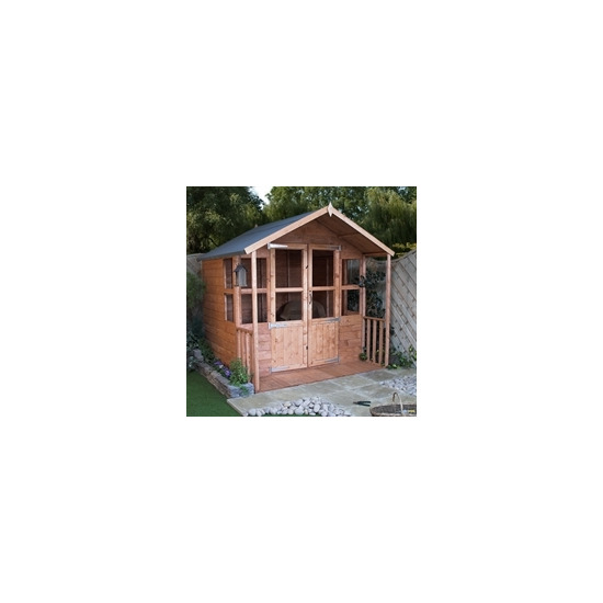 Lilly 7x7 Summerhouse