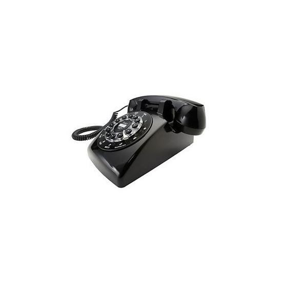 Wild & Wolf Dreyfuss 500 Classic Corded Telephone - Black