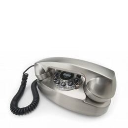 Wild & Wolf Chrome Princess Classic Corded Telephone