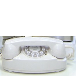 Wild & Wolf Cream Princess Classic Corded Telephone