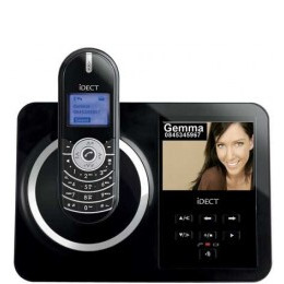 IDECT V30 Digital Cordless Phone with Picture Frame