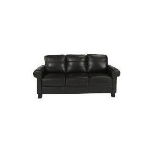 Photo of Amersham Large Leather Sofa, Chocolate Furniture