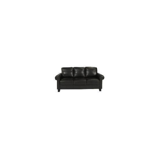 Amersham Large Leather Sofa, Chocolate