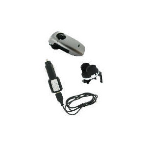 Photo of Bluetooth Driver's Pack Includes Bluetooth Headset, An In Car Charger For The Headset and Universal Phone Holder Mobile Phone Accessory