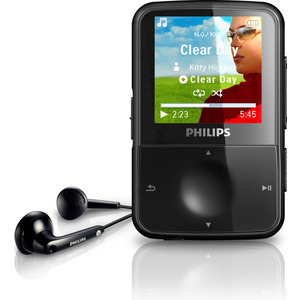 Photo of Philips GoGear Vibe SA1VBE04K 4GB MP3 Player