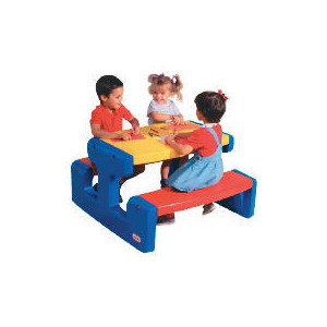 Photo of Little Tikes Large Primary Picnic Table Toy