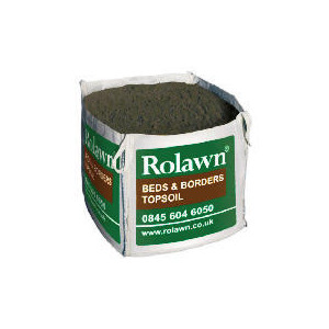 Photo of Rolawn Beds & Borders Topsoil 1XTOTE Bag 1M3 Garden Equipment