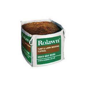 Photo of Rolawn Turf & Seedling Topsoil 1XTOTE Bag 1M3 Garden Equipment
