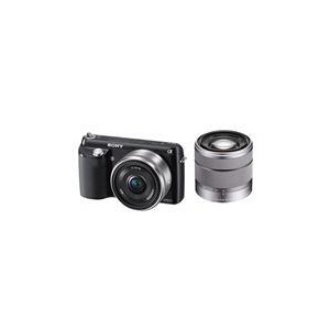 Photo of Sony NEX-F3 With 16MM and 18-55MM Lenses Digital Camera