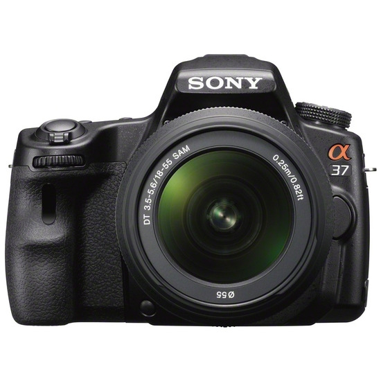 Sony Alpha A37 with 18-55mm Lens