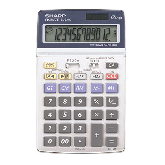 EL337C Desk Top Calculator