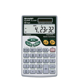 EL344R Hand Held Calculator Reviews
