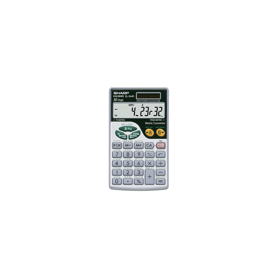 EL344R Hand Held Calculator