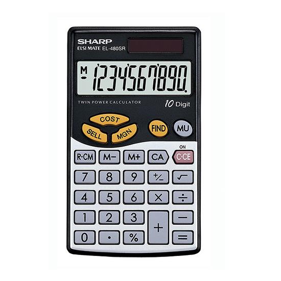 EL480SRB Hand Held Calculator