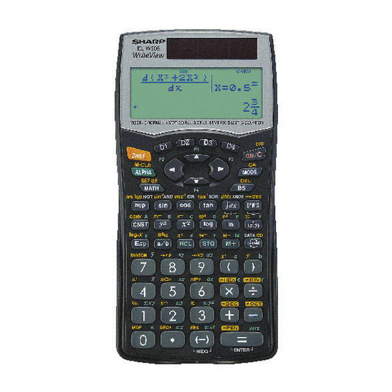 WriteView ELW506B Scientific Calculator