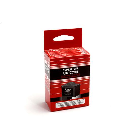 Sharp UXC70B black ink cartridge