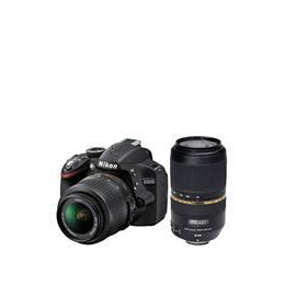 Nikon D3200 Twin Lens Bundle - Nikon 18-55 and Tamron 70-300 VC Reviews