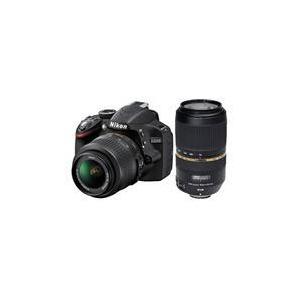 Photo of Nikon D3200 Twin Lens Bundle - Nikon 18-55 and Tamron 70-300 VC Digital Camera