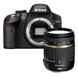 Nikon D3200 with Tamron 18-270mm Lens
