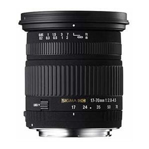 Photo of Sigma 17 70MM F 2 8 4 5 DC Macro Canon Af Lens