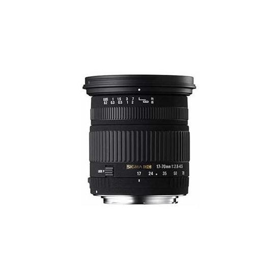 Sigma 17 70mm F 2 8 4 5 Dc Macro Canon Af