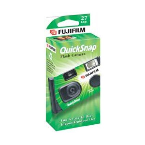 Photo of Quicksnap Flash 400 35MM 27EXP Analogue Camera