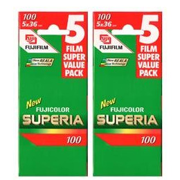 Fujifilm Superia 100 35MM 36 Exposure Pack Of 10 Reviews