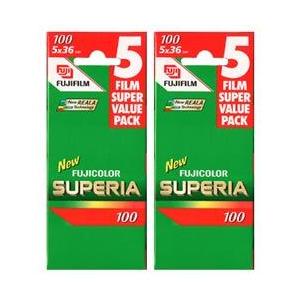 Photo of Fujifilm Superia 100 35MM 36 Exposure Pack Of 10 Camera Film