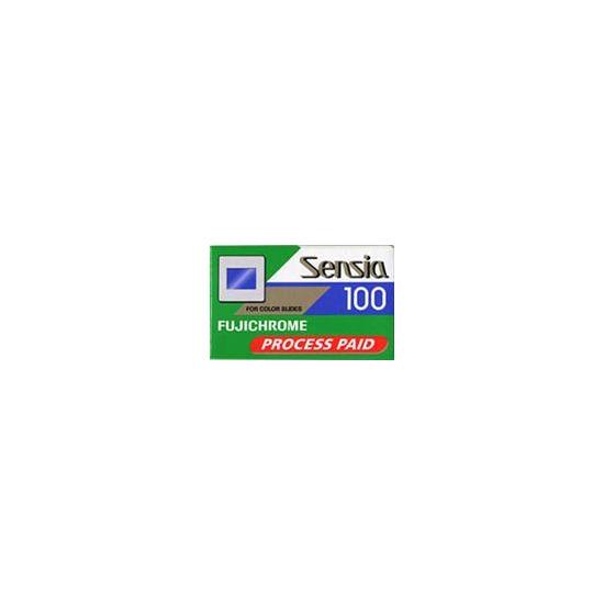 Fujifilm Sensia Rd100 35mm 36exp Pack Of 10 Process Paid