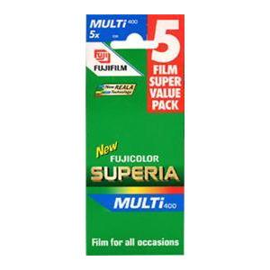 Photo of Fujifilm Superia 400 35MM 36 Exposure Pack Of 5 Camera Film