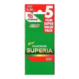 Photo of Fujifilm Superia 100 35MM 36 Exposure Pack Of 5 Camera Film